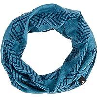 Odlo Tube 100% Merino Manguera Bufanda, otoño/Invierno, Unisex, Color Blue Coral - AOP FW18, tamaño -