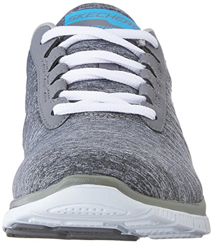 Skechers - Flex AppealNext Generation, pantofole da donna Grigio (Grau (GRY))