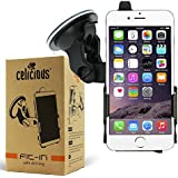 iPhone SE Case, Celicious Fit-In Dedicated Car Suction Mount Holder for Apple iPhone SE / iPhone 5s