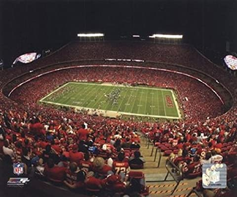 Arrowhead Stadium 2010 Photo Print (27,94 x 35,56 cm)