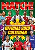 Match! Football Official 2019 Calendar - A3 Wall Calendar