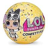 LOL Surprise Confetti Pop Wave 2 con Mini Doll a Sorpresa, 9 Livelli