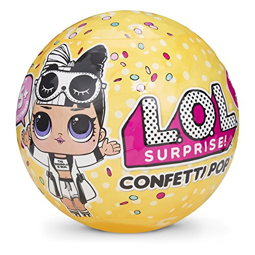 LOL Surprise Confetti Pop Wave 2 con Mini Doll a Sorpresa, 9 Livelli