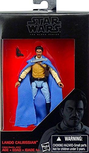 Star Wars Hasbro – C0661 The Black Series – Lando Calrissian – 10cm Action Figur, Sehr detailliert und mit beweglichen ()
