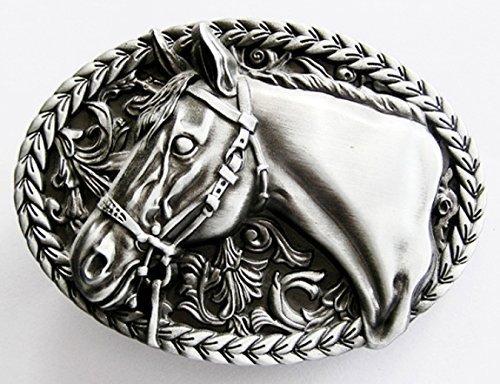 Fibbia Horse occidentale, Cavallo, Cowboy - fibbia della cintura