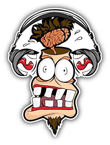 headphones-man-shout-loudly-car-bumper-sticker-decal-8-x-12-cm