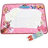 Limtoys Water Magic Drawing Pittura Doodle Mat Aqua Writing Board con 6 colori Disegno a penna magica Scrittura a mano Giocattoli per bambini Ragazze Ragazzi Toddlers (Piccoli, princess)