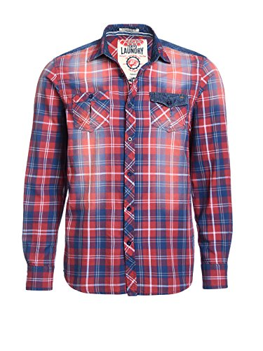 Tokyo Laundry Men - Chemise casual - Homme Rouge