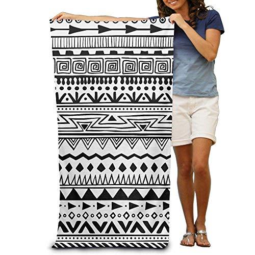 LanKa, Asciugamano da Bagno, Stile Boho, Telo da Spiaggia Personalizzato, per Bambini, ad...