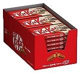 Nestlé KITKAT Schoko-Riegel, Milch-Schokolade, Großpackung, 24er Pack (24 x 41,5g)