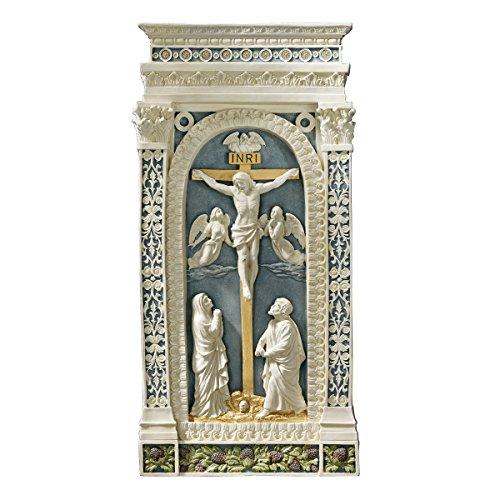 Design Toscano Kreuzigung (1521), Wandfigur