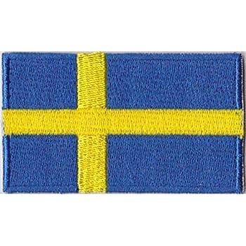 Flaggen Aufnaher Patch Schweden Fahne Flagge 6 X 3 5 Cm