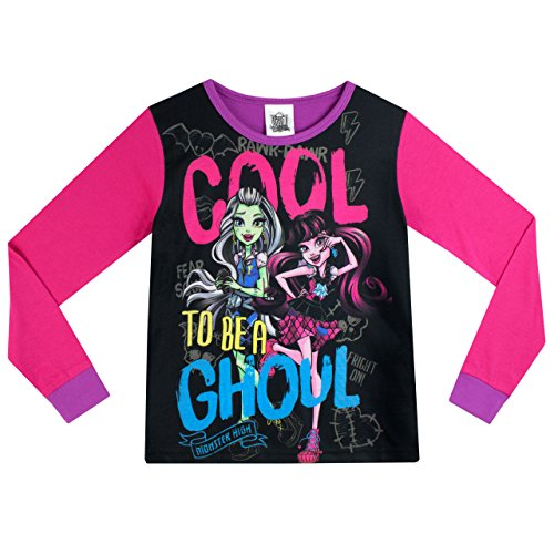 Image of Monster High Girls Monster High Pyjamas Age 9 to 10 Years
