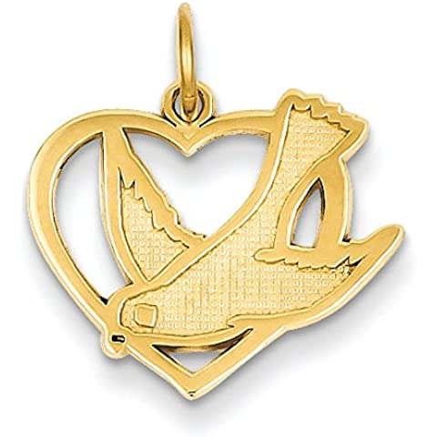 Oro 14K Pace Uccello Charm