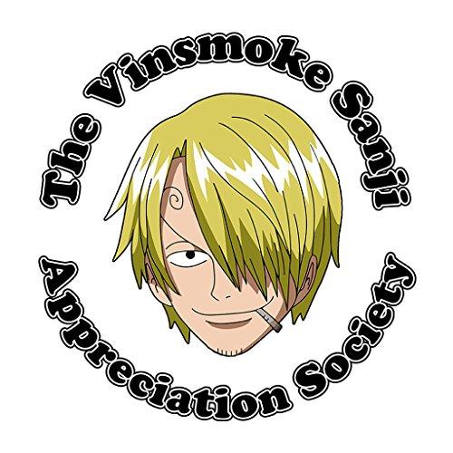 The Vinsmoke Sanji Appreciation Society One Piece Womens Vest white