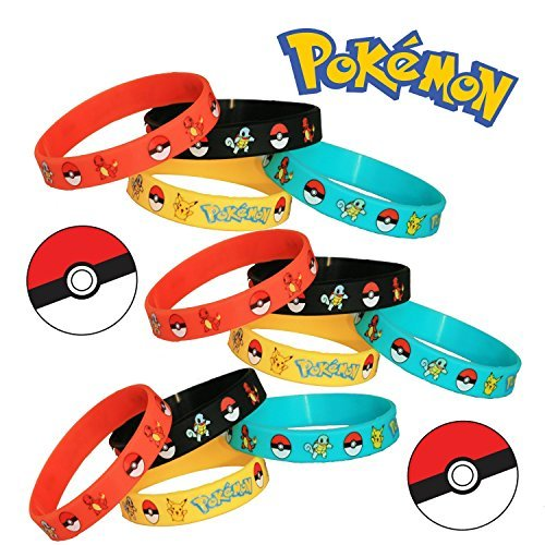 pokemon-party-supplies-silicone-wristband-bracelet-favors-12-count