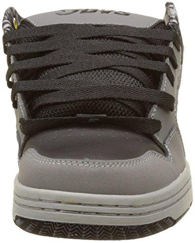 DVS APPAREL Enduro 125, Scarpe da Skateboard Uomo Noir (Black Grey Leather Nubuck Deegan)