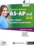 Concours d'entrée AS-AP Oral 2018...