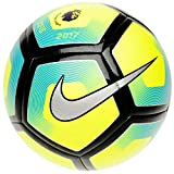 Nike Pitch Premier League Football 2017 - Size 5 - Yellow/Blue by Nike