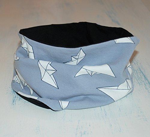 Reversible Loop Schal, Schlauchschal, Tube scarf, Unisex Infinity Schal, röhrenförmige Schal, Kleinkind, Kind Schal, Schal-Infinity, Comfort Babykleidung (Kinder Infinity-schals)