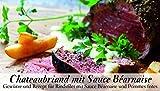 Chateaubriand mit Sauce Béarnaise – 8 Gewürze für Rindsfilet mit Sauce Béarnaise und Pommes Frites (36g) – in einem schönen Holzkästchen – mit Rezept und Einkaufsliste – Geschenkidee für Männer und Feinschmecker – von Feuer & Glas