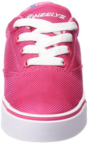 HeelysLaunch 770699 - Sneakers da ragazza Multicolore (Fuchsia/Printed Lining)