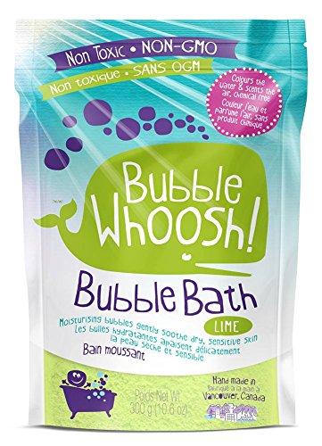 Burbuja WHOOSH no tóxico eccema seguro Baño de burbujas, color verde