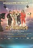 DALIDA - Hit Parade - Claude François - Mike BRANT - 70x100cm - AFFICHE / POSTER