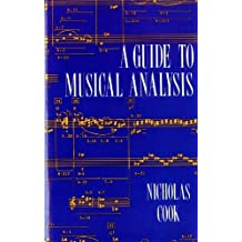 A Guide to Musical Analysis by Nicholas Cook (1992-01-17)