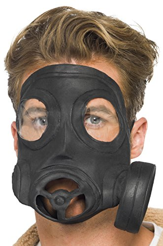 Gasmaske Gas Maske Kostüm - der Partygag - Karneval Fasching (Maske Gas Kostüme Mit Halloween)
