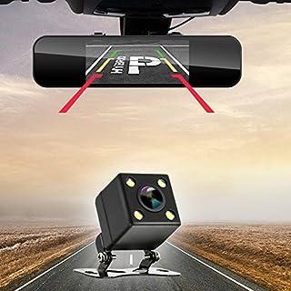 AUTLY Auto Backup Kamera NachtsichtDynamische Trajektorie Rearview IP 68 Kfz-Kennzeichen Reverse HD Weitwinkel Automatische Wechselbare Parklinie Fahrzeugkamera