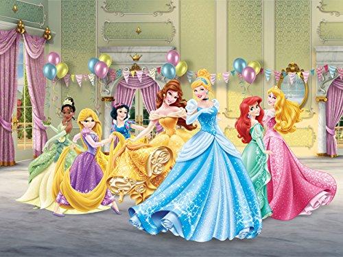 AG-Design-Disney-Princess-Ballroom-4-Part-Photo-Mural-Wallpaper-for-Childrens-Room-Multi-Colour-360-x-255-cm