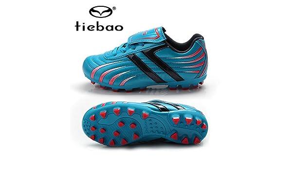 TIEBAO Byency (TM) da calcio professionale per bambini e teenager HG    AG-Suola per scarpe da calcio 010d59716d0