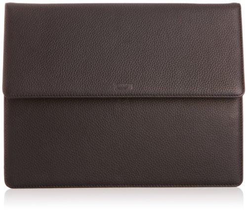 Leonhard Heyden  Oslo Document Wallet 3723,  Unisex-Erwachsene Laptop-Tasche Schwarz - Schwarz