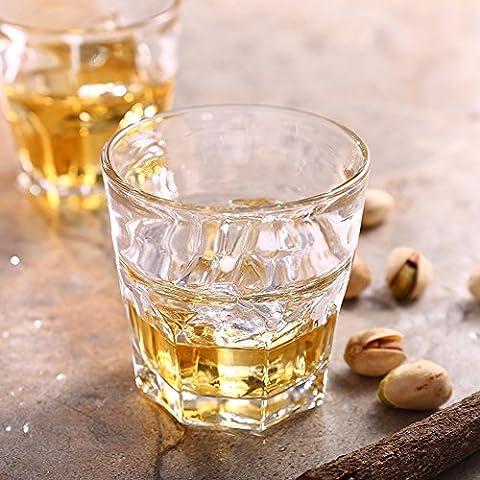 Beer Mug verre cristal Grand Whiskey de tasse d'eau tasse tasse en verre de bière vin 2 boîtes