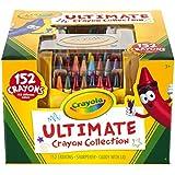 Crayola Ultimate pastello Collection W/temperamatite e Caddy-152Pc