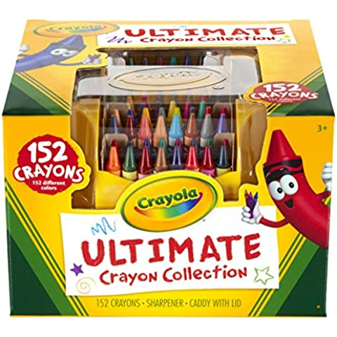 Crayola Ultimate Pastello Collection W/Temperamatite E Caddy-152Pc