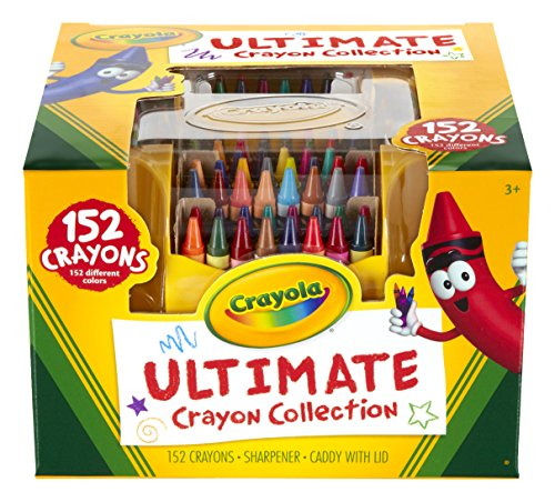 Crayola 52 – 0030 – 0 – 000 Ultimate Collection tizas (152 de Piece)