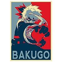 Instabuy Poster My Hero Academia Propaganda Bakugo - A3 (42x30 cm)