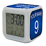 Koolart Chelsea Multi Image Digital LED Alarm Clock - Light up colours Designed