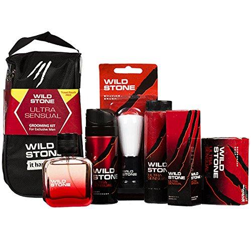 Wild Stone Ultra Sensual For Men Grooming Kit.