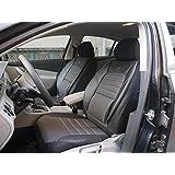 Cubiertas para asientos de automóvil Peugeot Bipper Tepee no1 negro-gris protectores juego completo ara los asientos delanteros y traseros fundas de asiento
