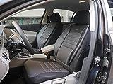Sitzbezüge k-maniac | Universal Schwarz Grau | Autositzbezüge Set Komplett | Autozubehör Innenraum | Auto Zubehör für Frauen und Männer | No. 1A | Kfz Tuning | Sitzbezug | Sitzschoner