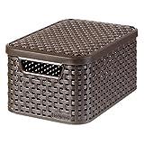 Curver 03617-210-00 Aufbewahrungsbox Style mit Deckel S