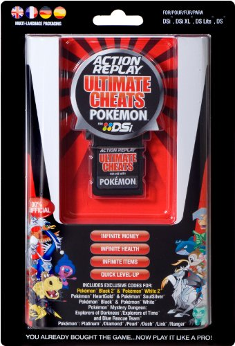 DSL,DSi, DSi XL - Action Replay Ultimate Cheats Pokemon 2 (Replay Ds Pokemon Action)