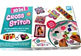 #9: Dhinchak (Tm) Artbox 10 In 1 Cross Stitch Game For Girls - Multi Color
