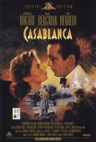Casablanca Affiche du film Poster Movie Casablanca (27 x 40 In - 69cm x 102cm) Style A