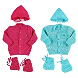 KiddosCare New Born Baby Woollen Knitted...