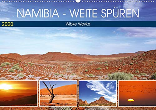 Namibia - Weite spüren (Wandkalender 2020 DIN A2 quer): Eine Fernweh-Tour durch das afrikanische Land (Monatskalender, 14 Seiten ) (CALVENDO Orte)