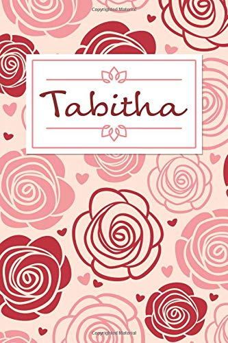 Tabitha: Personalised Notebook / 120 Lined Pages / Perfect for journaling and writing notes. Tabitha Rose